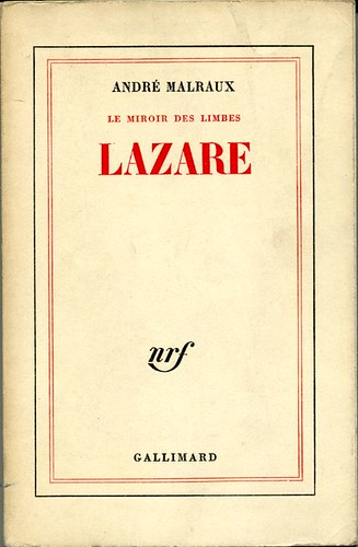 Lazare by, André MALRAUX