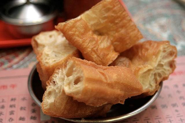 "The ""youtiao"" is gigantic! And supertasty!"
