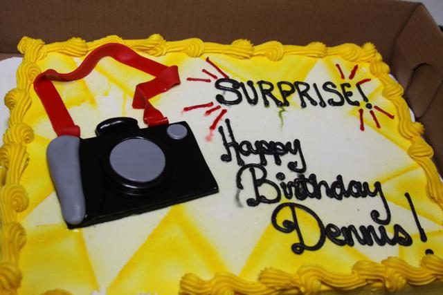 Happy  Birthday Denis Cake Image