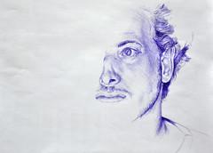 Shay (miri orenstein) Tags: portrait pen drawing