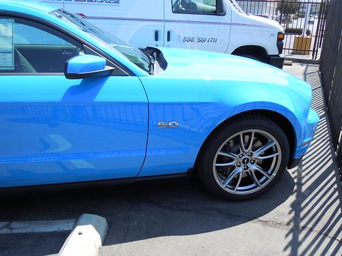 grabber blue 2011 mustang. 2011 Mustang GT 5.0 in Grabber