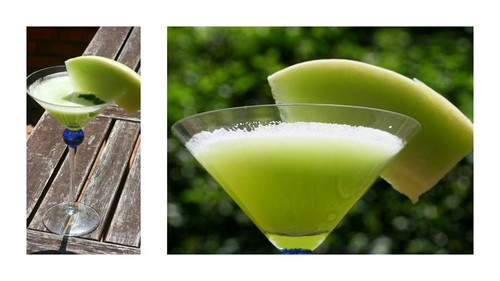 honeydew melon martini