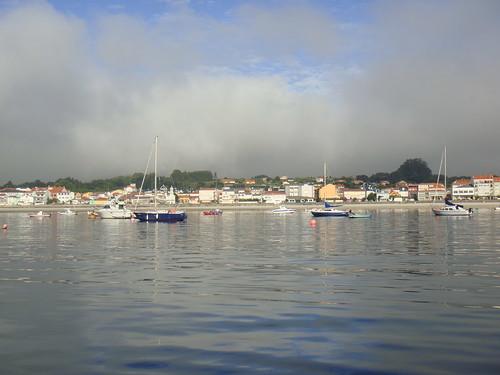 Vista de Ares desde el barco