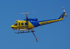 Ventura County Sheriff/Fire Helicopter (ron.photographer) Tags: huey firefighting venturacountysheriff venturacountyfiredept bellhh1h 2010camarilloairshow