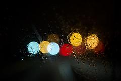 235 - The Passenger Seat (nickb_rock) Tags: road cars water rain lights droplets nikon bokeh seat nick vehicle headlight passenger windshield nikkor raining 2010 2470 365project d3s nickbrokalakis brokalakis