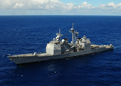 USS Lake Erie in the Pacific (US Navy) Tags: ocean ship pacific military militar usnavy buque ocano unitedstatesnavy rimpac usslakeerie