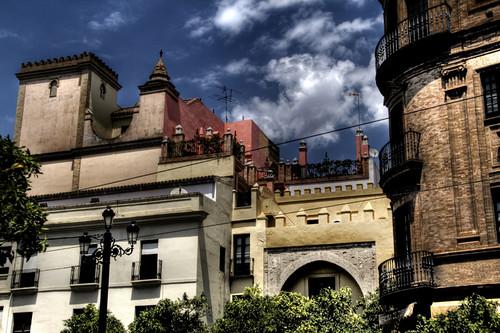 Seville building. Edificios de Sevilla.