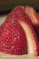strawberries (bendixondavis) Tags: macro lens diy strawberry reverse strobist lp120 lumopro