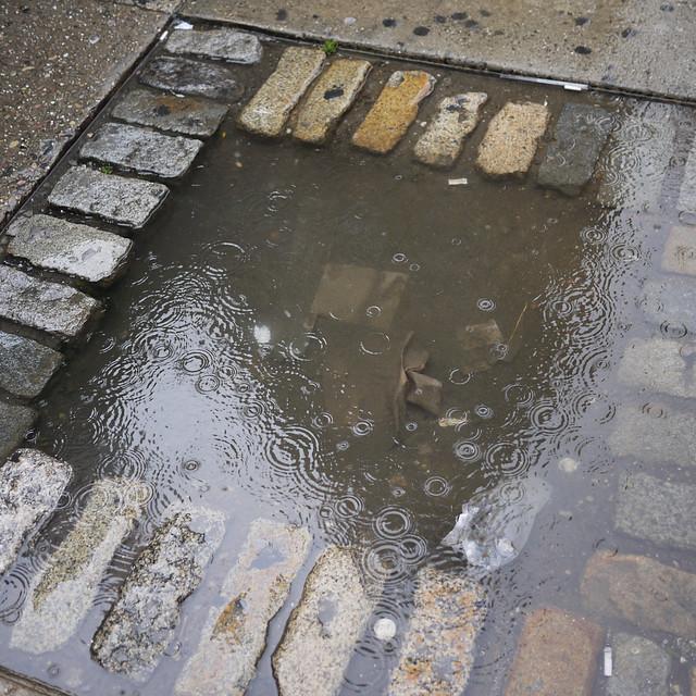NYC sidewalk water fountain #walkingtoworktoday