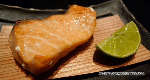 Grilled to perfection salmon