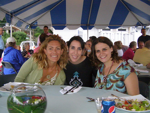 Old Skool friends: Lauren, Carey et moi