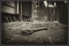 Old_key (PSSX200(Jani Mllri)) Tags: old bw canon key hdr bwhdr