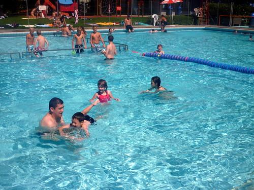 piscine de Serrières à Neuchâtel