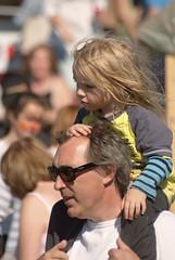 My Daddy is a grand stand (Frank Fullard) Tags: street portrait horse festival strand candid racing doolough fullard geesala frankfullard