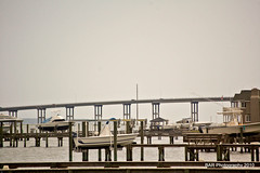 Bridge to Morehead City (BAR Photography) Tags: waterfront moreheadcitync moreheadcity waterfronts publicwateraccess moreheadcitywaterfront northcarolinawaterfronts moreheadcitydocks waterfrontphotos