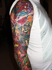 Spiderman Tat 1