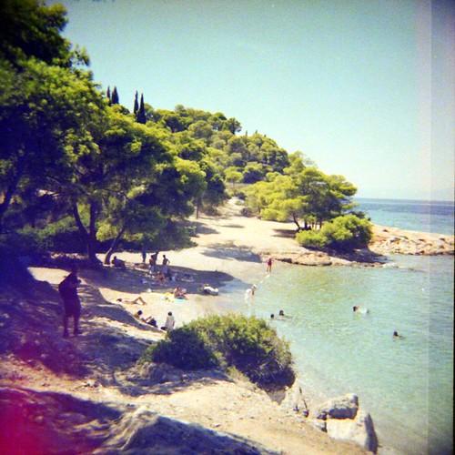 Ligoneri beach, Spetses