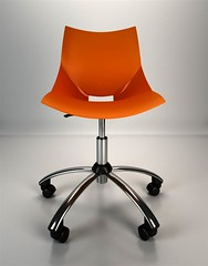 Chair Shell (3D Scrab) Tags: 3d model 3dmodel 3dfurniture