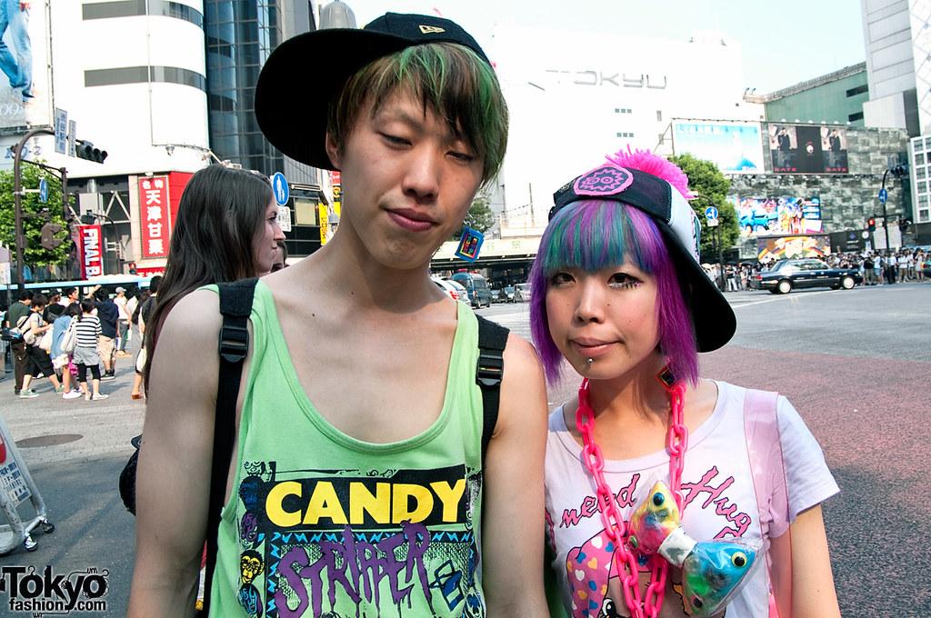 Candy Stripper Fashion