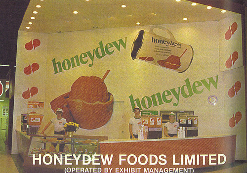 1980 CNE Food Building: Honeydew