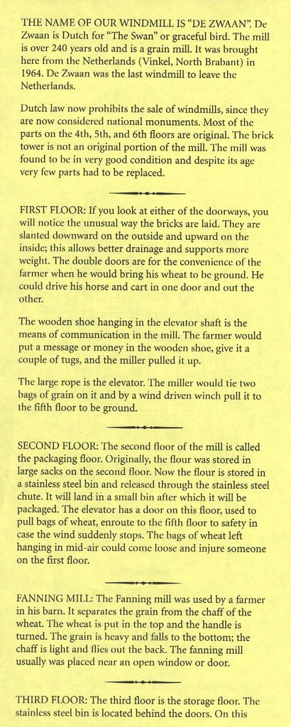 Windmill explanation   1st