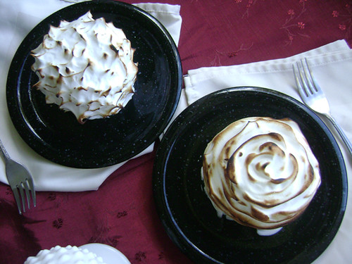 Daring Bakers August: Baked Alaska/Ice Cream Petit Fours