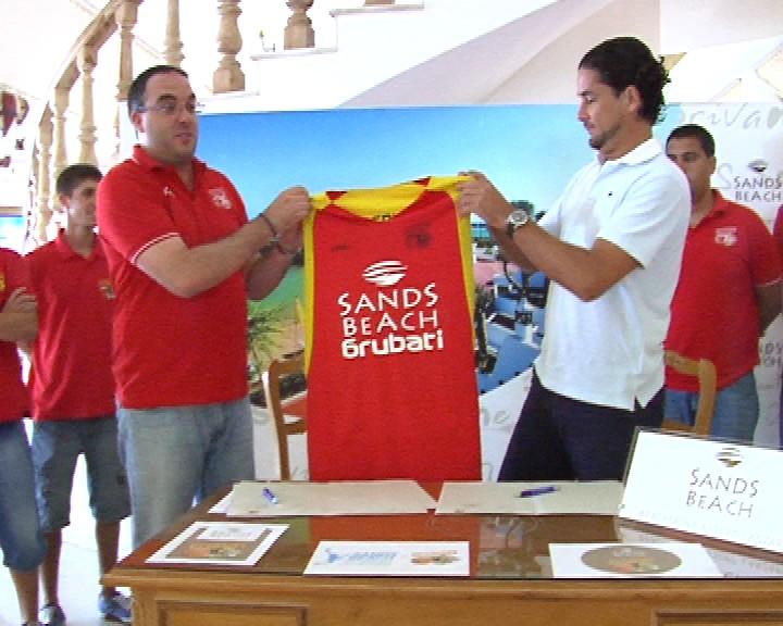 NACE EL CLUB DE BALONCESTO SANDS BEACH GRUBATI