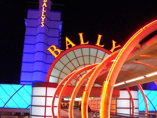 The Neon Entrance to Bally's Las Vegas http://flic.kr/p/8vN3fM