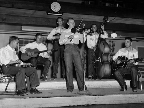 My Papa Playing in the Band 'The Southwesterners' - Old Scan http://flic.kr/p/8vQovw