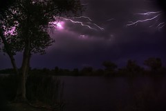 Summer Monsoon in Yuma, AZ (Ty in AZ) Tags: summer arizona storm night az monsoon lightning yuma pentak10d tyinaz