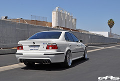 White e39 M5 8-27-10 2 (european auto source) Tags: white silver bmw lm bbs m5 stoptech e39