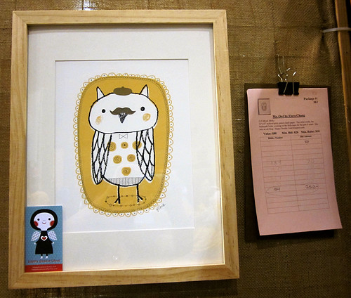 Mr. Owl for Art Unleashed Silent Auction