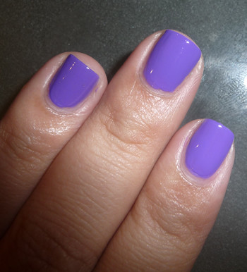 Claire's Matte Purple