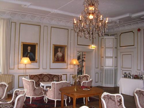 Interiör från Haga slott