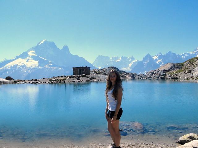 lac blanc cabane