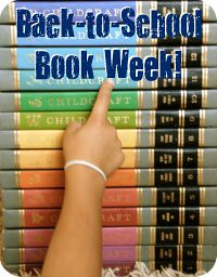 back to school book week