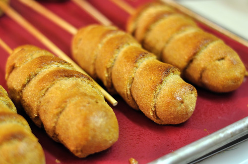 Baked Corn Dogs