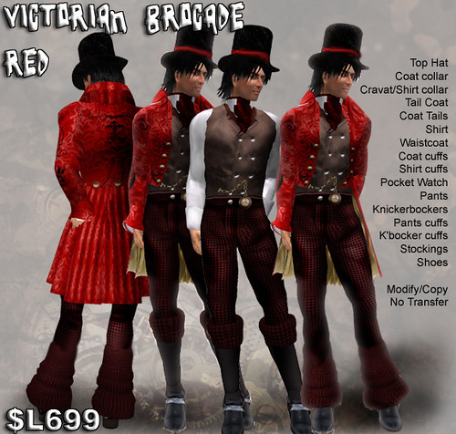 Victorian Brocade - New Suit from Avatar Bizarre