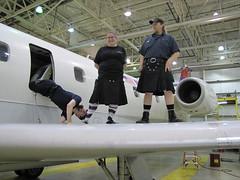 What\'s under here? (utilikilts) Tags: plane utilikilt kilt upskirt upkilt