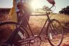 Richard & Shirley - engaged (isayx3) Tags: light portrait field bike 35mm vintage golden engagement nikon natural lifestyle f2 nikkor studios d3 plainjoe isayx3 plainjoephotoblogcom