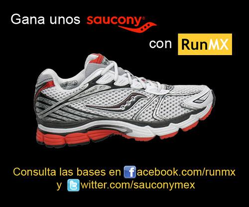 Gana unos Saucony con RunMX