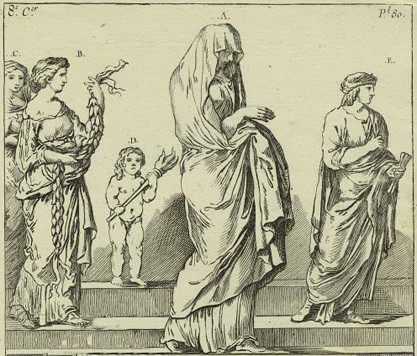 The wedding veil can be traced all the way back to prebiblical times and is