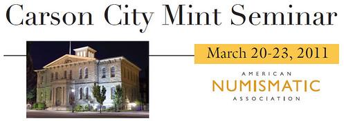 Carson City Mint Seminar