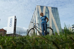 me & my bicycle at Københavns Universitet (Science)