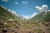 Walk Towards Anso Lake from Lake Saif Al Malook (Syed Sibt-e-Hassan) Tags: new blue pakistan mountain lake beautiful clouds landscape amazing nikon colorful unique awesome horizon valley nikkor addiction 18200mm d90 nikor hazaraprovince