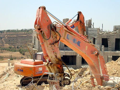 Construction in Gush Etzion, West Bank