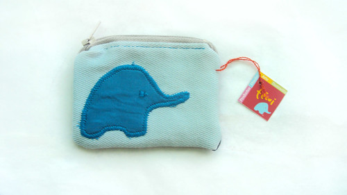 mini coin purse. ziazia + técui