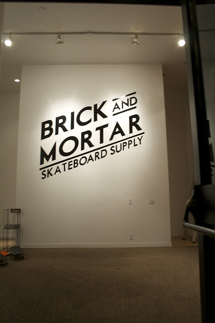 Brick & Mortar Entry Mural