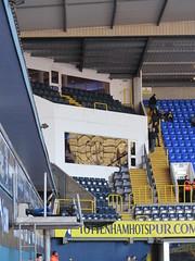 Southeast Corner (flierfy) Tags: uk england london stand football unitedkingdom stadium crowd ground concourse tottenham whitehartlane zuschauer thfc greaterlondon tribne haringay
