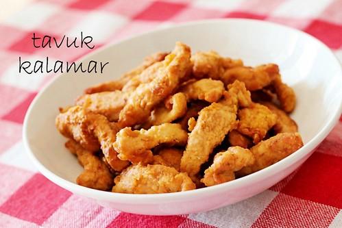 Tavuk Kalamar